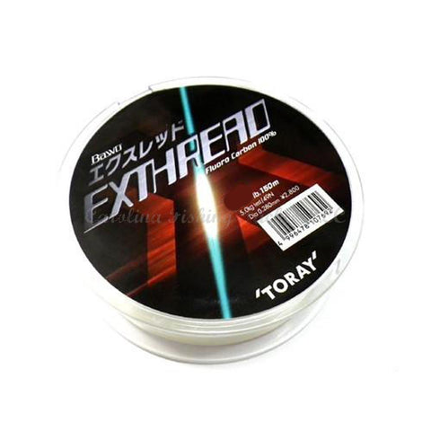 TORAY Bawo Exthread Fluorocarbon - Carolina Fishing Tackle LLC