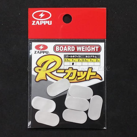 zappu Board Weights-Tuning Weights-Zappu-1g - 8pcs/pk-Pearl White-Carolina Fishing Tackle LLC