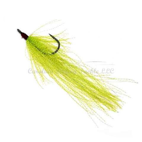 Zappu MEGA Tinsel Hook-Trailer Hook-Zappu-Chartreuse/Tinsel-Carolina Fishing Tackle LLC