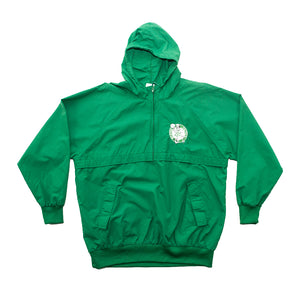 Chalk Line Boston Celtics Half-Zip Hooded Jacket
