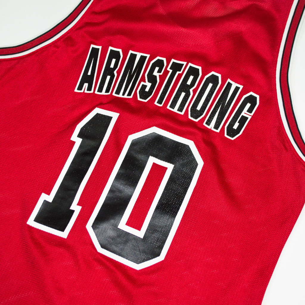 bd0e10ab4 ... Champion BJ Armstrong Chicago Bulls Road Jersey (blank front)