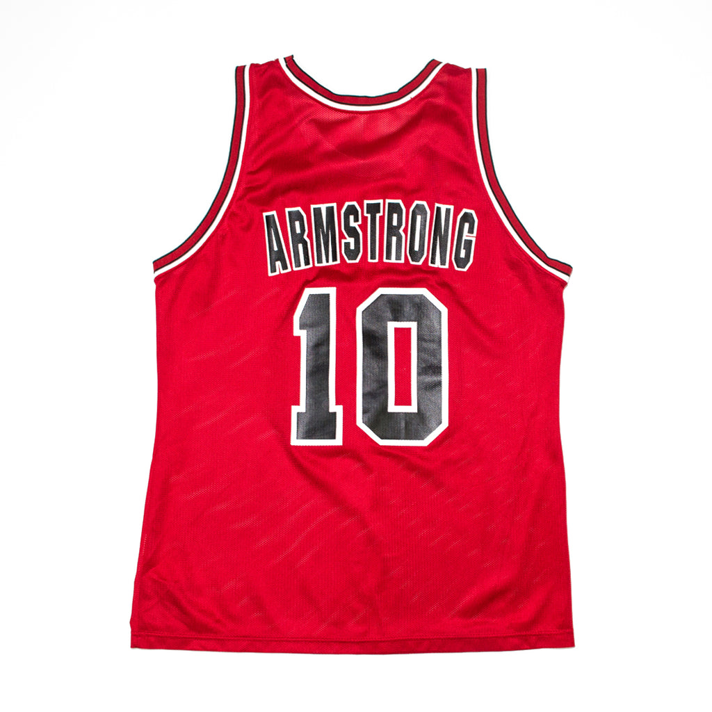 c2e72fdfc ... Champion BJ Armstrong Chicago Bulls Road Jersey (blank front) ...
