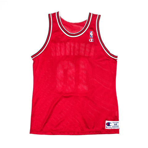 Champion BJ Armstrong Chicago Bulls Road Jersey (blank front)