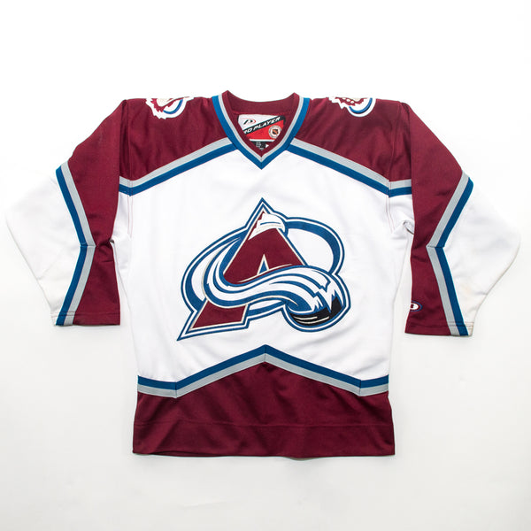 90s Colorado Avalanche Youth Hockey Jersey