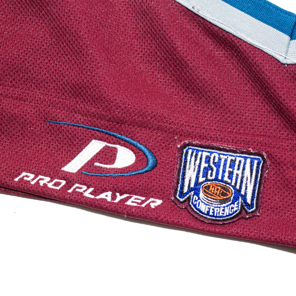 the latest 5d19e 6fc5a 90s Colorado Avalanche Youth Hockey Jersey – Forgiven ...