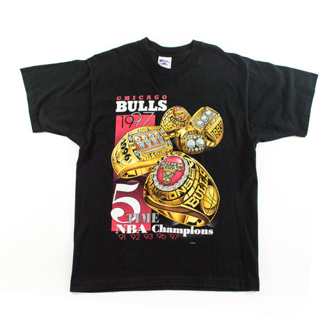 "1997 Chicago Bulls ""5 Time Champs"" Pro-Line T-shirt"