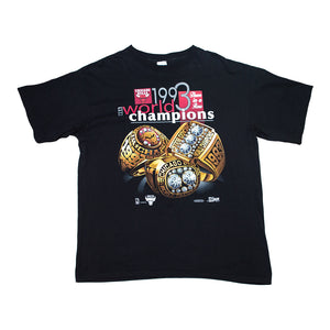 1993 Chicago Bulls 3-Peat Salem Sportswear T-shirt