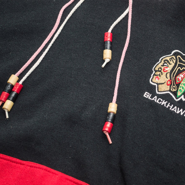 90s Starter Chicago Blackhawks Double Hood Hoodie
