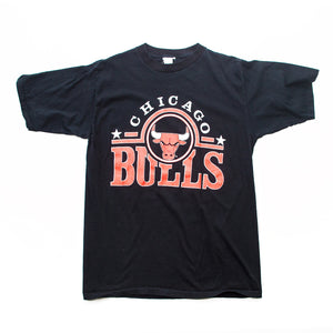 90s Chicago Bulls Infrared Logo T-Shirt