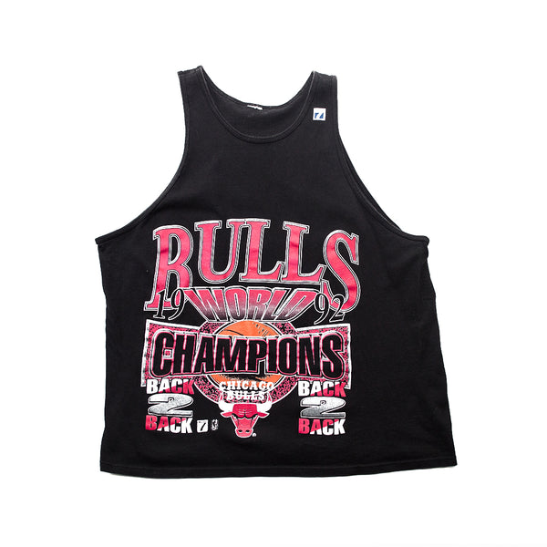 1992 Logo 7 Chicago Bulls World Champions Tank Top