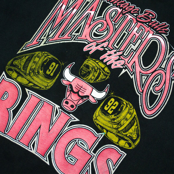 "1993 Chicago Bulls ""Masters of the Rings"" T-Shirt"
