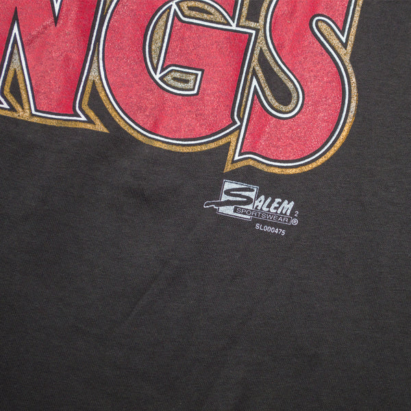 "1993 Salem Sportswear Chicago Bulls ""Masters of the Rings"" T-shirt"