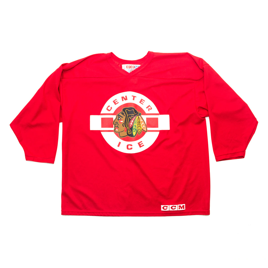 CCM Center Ice Chicago Blackhawks Practice Jersey