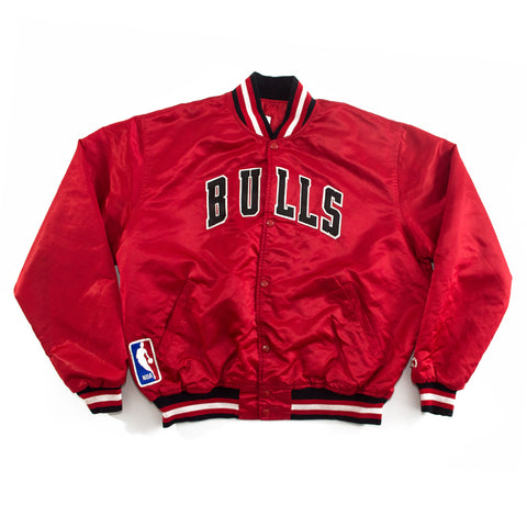 1990's Chicago Bulls Starter Satin Jacket