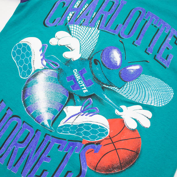 Magic Johnson T's Charlotte Hornets Big Logo T-shirt