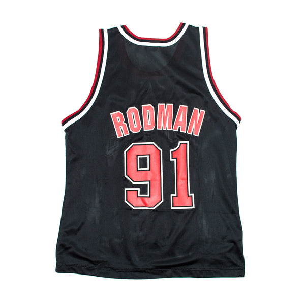 Champion Dennis Rodman Chicago Bulls Alternate Jersey
