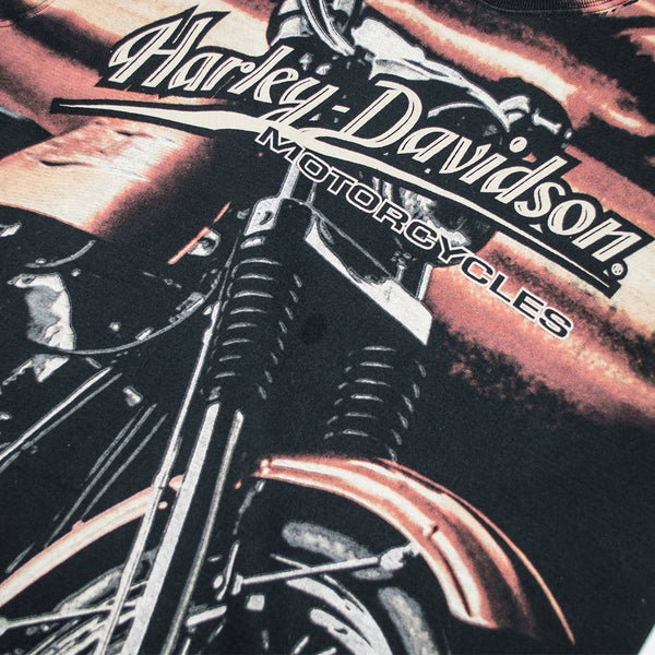 Harley Davidson Sky All Over Print T-shirt