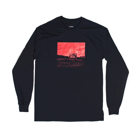 """Hell Is Real"" Long Sleeve T-shirt"