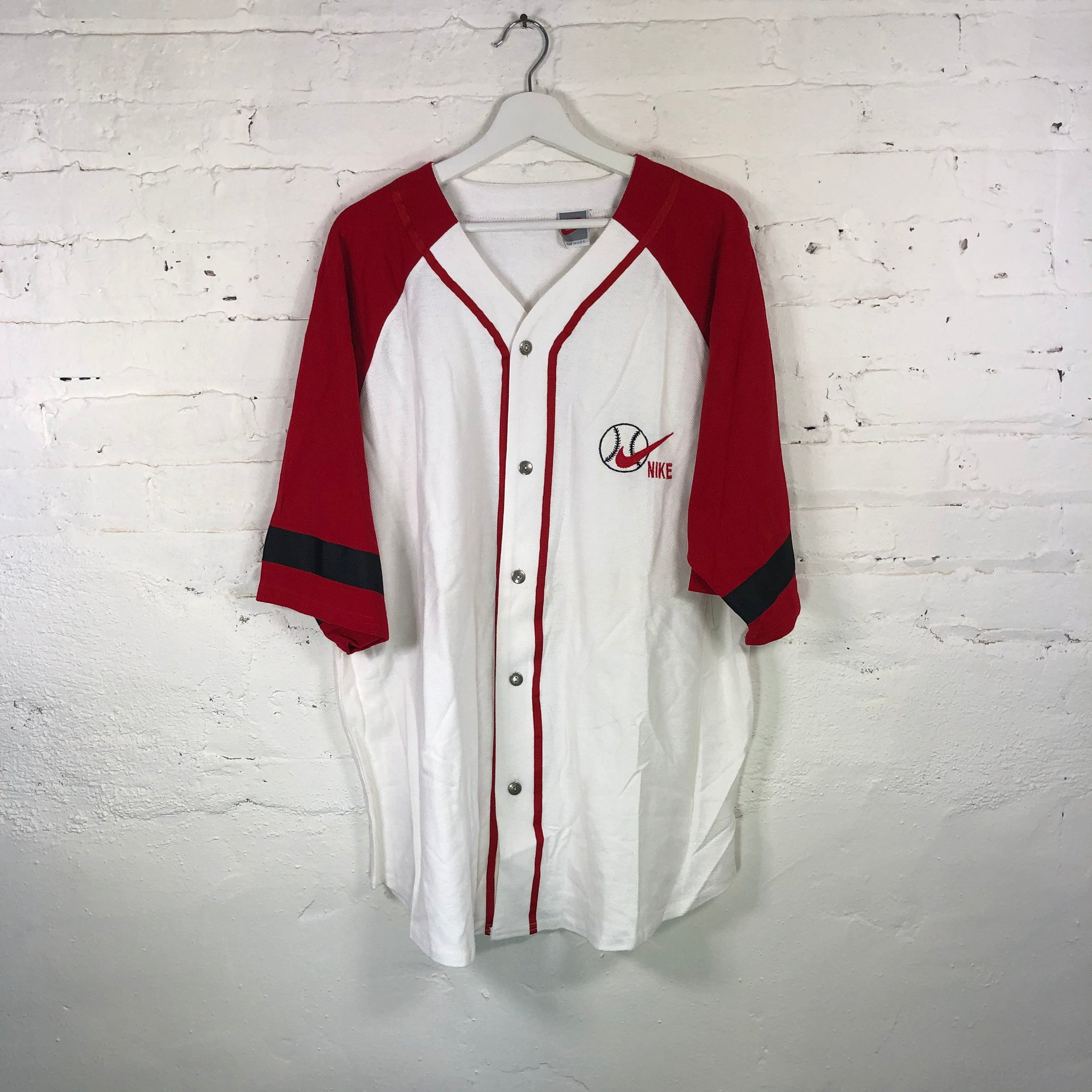 BL NIKE Baseball Jersey (RED)