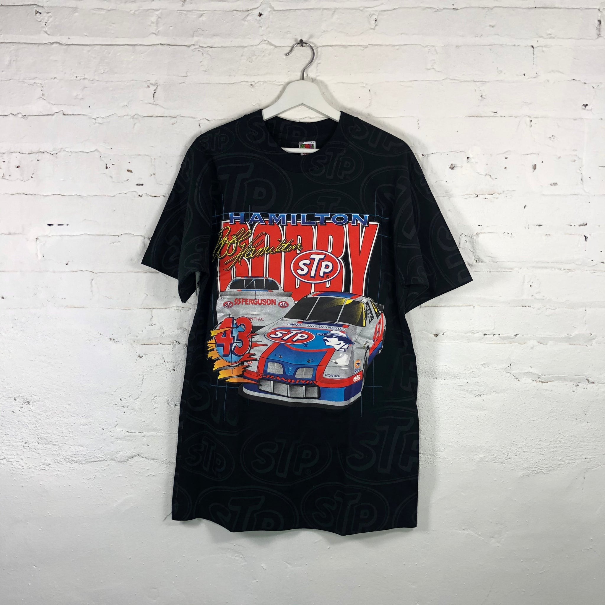 All over Print Bobby Hamilton STP Racing Team T-shirt
