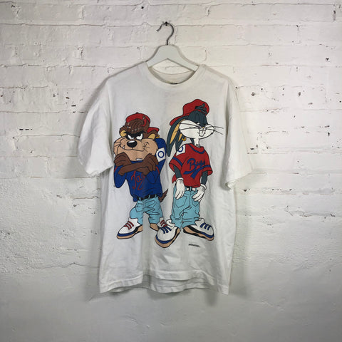 Original 1993 BUGS AND TAZ kris kross T-shirt