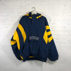 90s Michigan Wolverines starter Pullover jacket