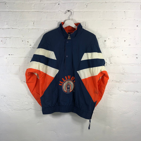 Illinois Fighting Illini Starter Pull Over Jacket