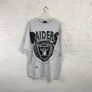 1994 Raiders T-shirt By Magic Johnson Ts