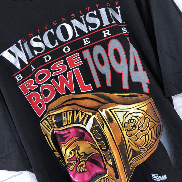 Wisconsin Badgers Salem Sportswear  T-shirt (1994)