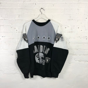 90s Raiders   Crewneck Sweatshirt