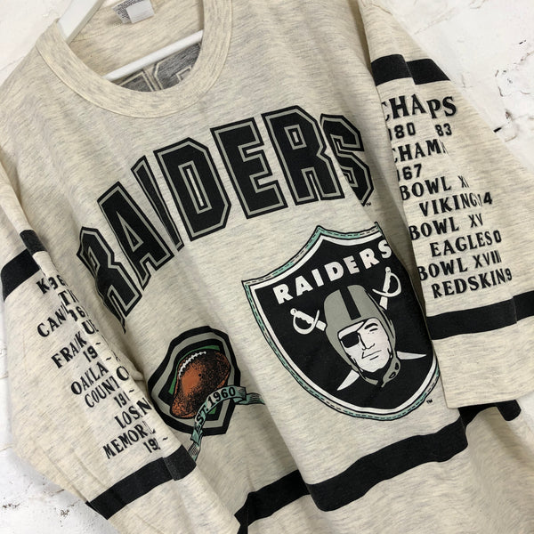 90s Raiders Long sleeve T-shirt (Long Gone)