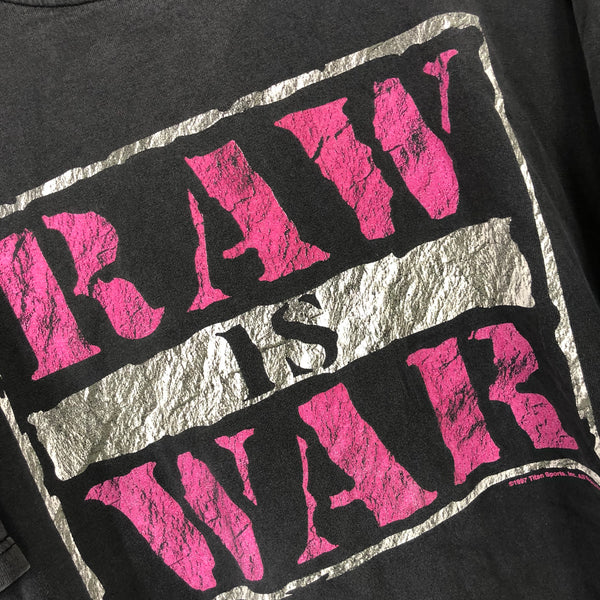 WWF RAW IS WAR T-shirt (1997)