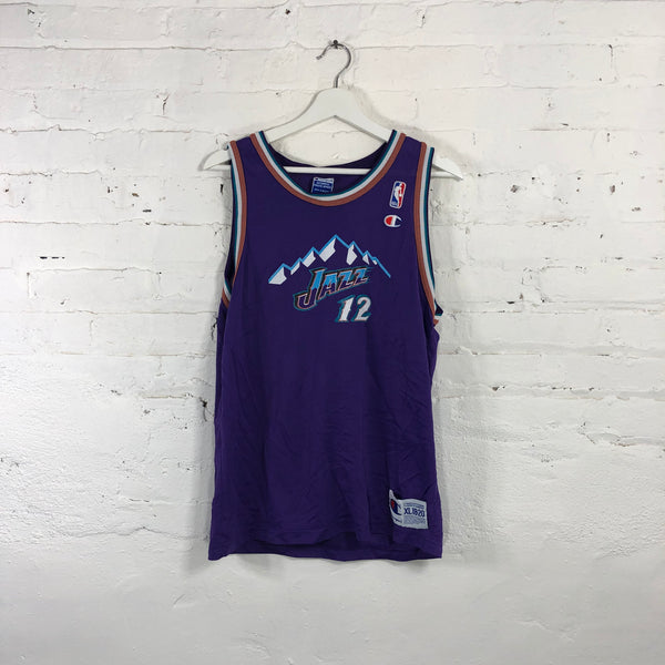 Youth Champion John Stockton Utah Jazz  Jersey