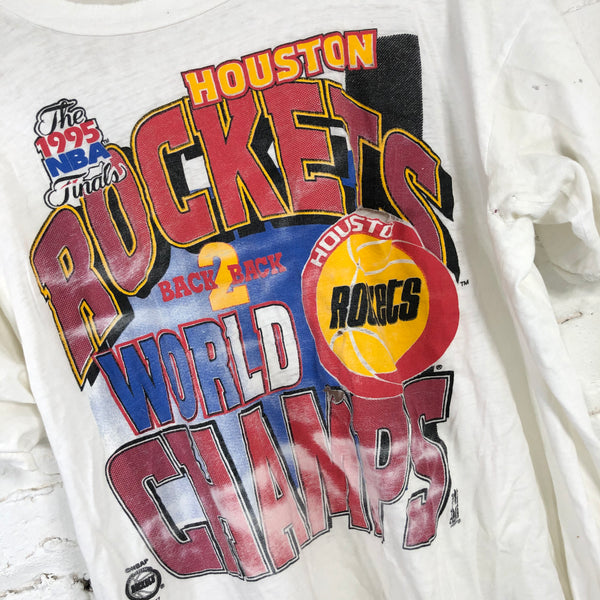 1995 NBA Finals Houston Rockets Tshirt