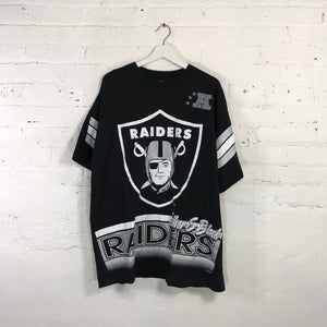 1994 Raiders T-shirt Salem Sports Wear