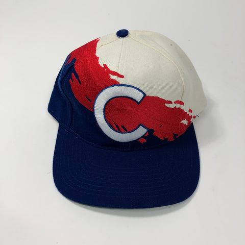 Cubs Snapback 90s (Splash Logo Athletic)