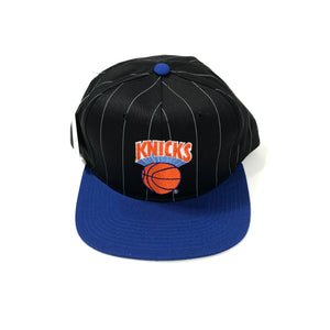 STARTER Pin Stripe NEW YORK KNICKS Snapback 90s