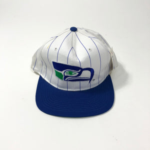 STARTER Pin Stripe Seattle Seahawks  Snapback 90s