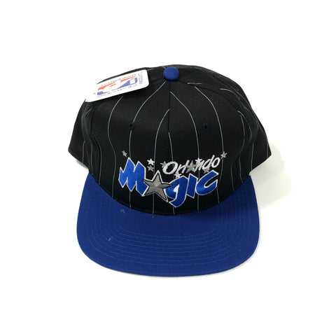 STARTER Pin Stripe Orlando Magic Snapback 90s