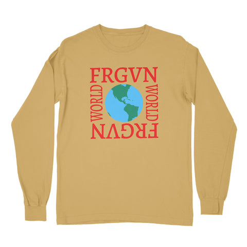 """FRGVN WORLD"" Long Sleeve T-Shirt"