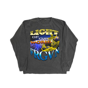 """Light of the World"" Graphic Long Sleeve T-Shirt"