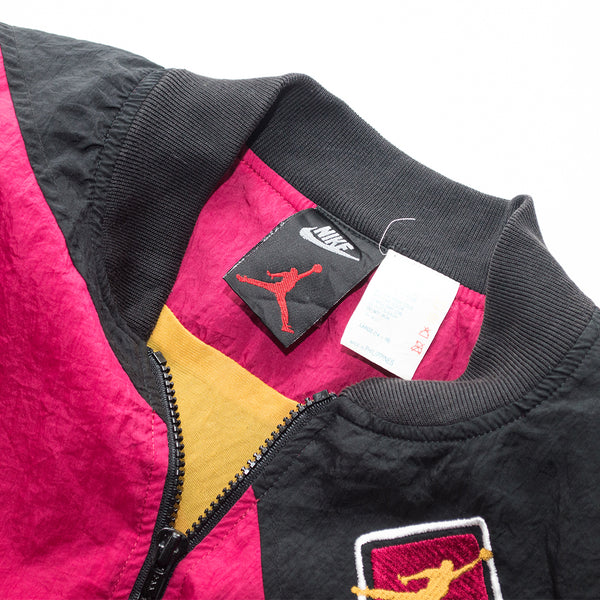 Youth 1992 Nike Air Jordan VII (7) Cardinal Windbreaker Jacket