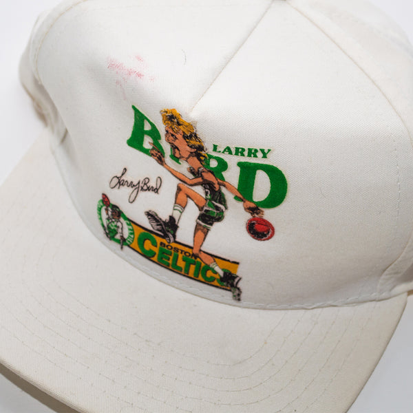 Salem Sportswear Larry Bird Boston Celtics Big Head Character Cap