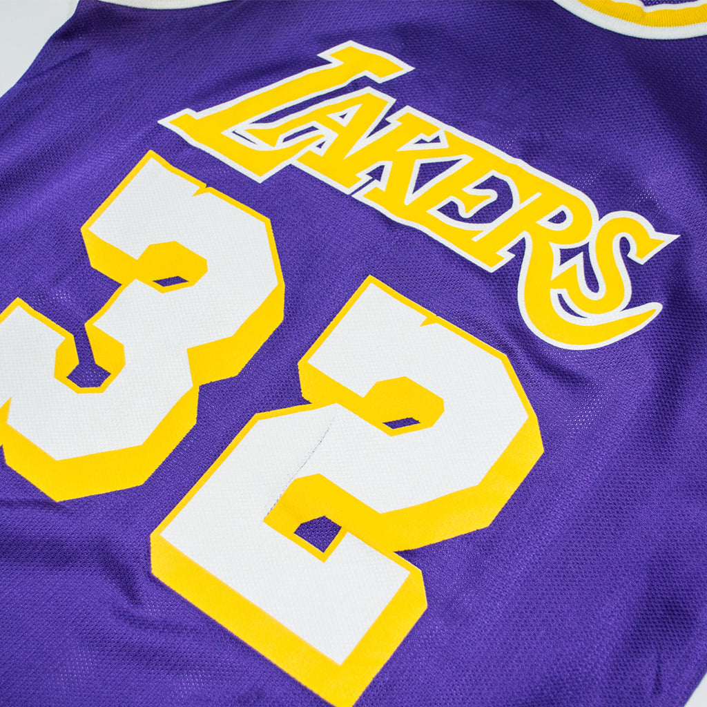 buy online 9c17d 81925 Champion Magic Johnson Los Angeles Lakers Road Jersey ...