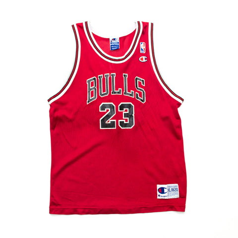 Youth Champion Michael Jordan Chicago Bulls Road Jersey