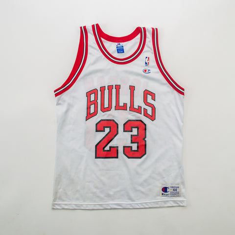 Champion Michael Jordan Chicago Bulls Home Jersey