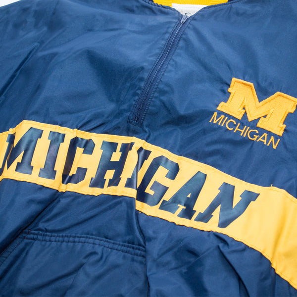 90s Michigan Wolverines DeLong Pullover jacket