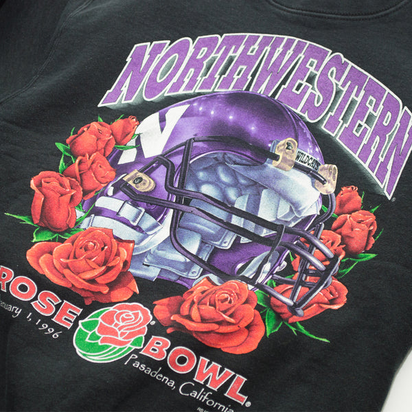 1996 Salem Sportswear Northwestern Rose Bowl Crewneck Sweatshirt