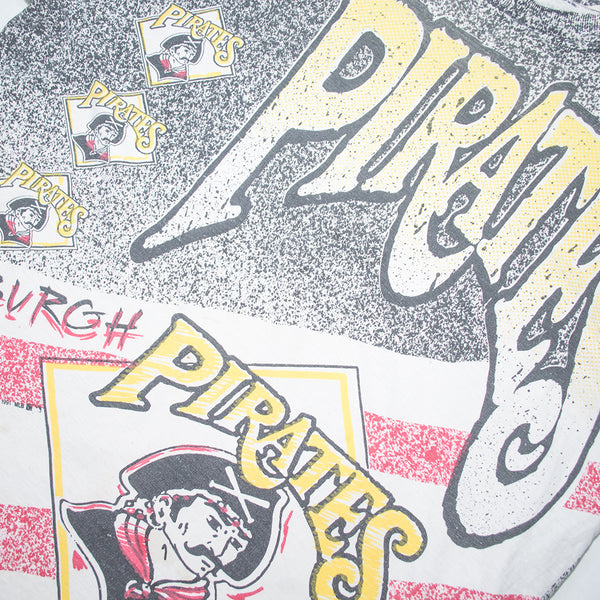 1991 Pittsburgh Pirates Trench T-shirt