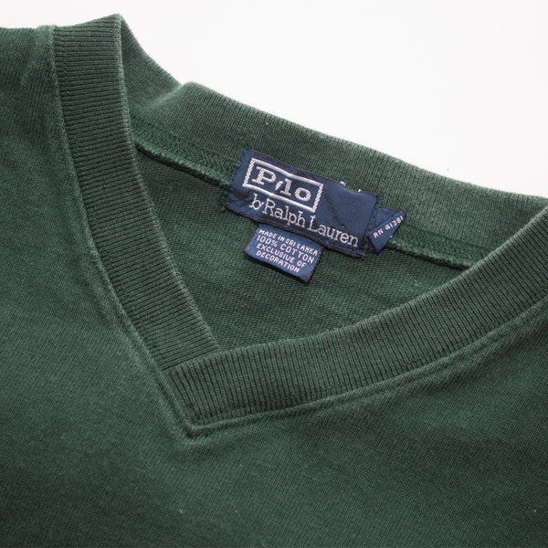 POLO PRL67 Felt Patch Sweatshirt